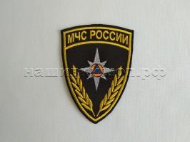 """Нарукавная нашивка """"МЧС РОССИИ"""" колос"""